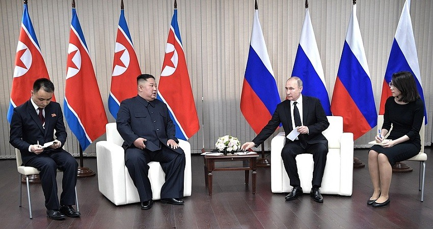 Putin y Kim Jong Un