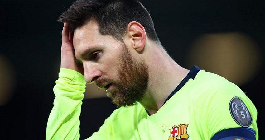 Derrota historica del FC Barcelona en Champions