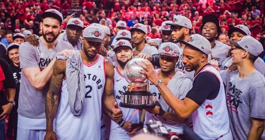 Los Toronto Raptors alcanzan la final de la NBA por primera vez en la historia
