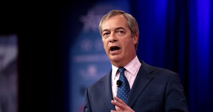 El partido Brexit lograría más apoyo en las europeas que conservadores y laboristas juntos