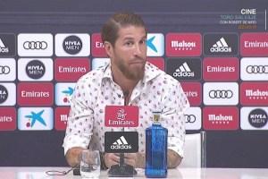 Sergio Ramos pone fin a los rumores de su salida del Real Madrid