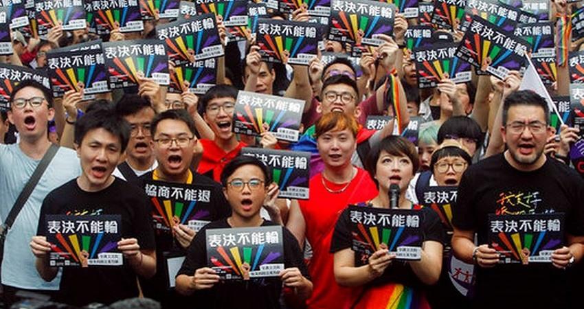 Taiwan aprueba el matrimonio homosexual