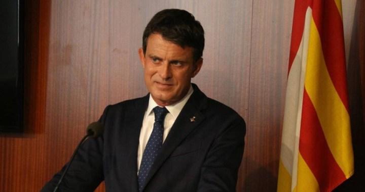 Manuel Valls carga contra Ciudadanos por pactar con Vox