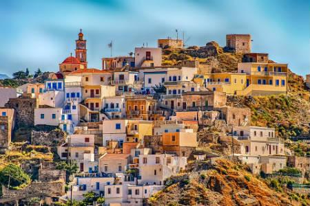 Pueblo de Grecia Karpathos