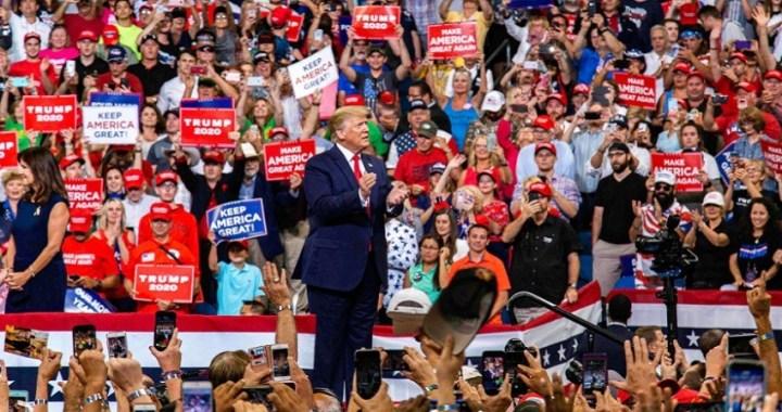 Donald Trump inicia formalmente su campaña de reelección para 2020