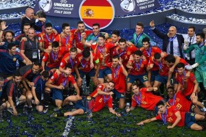 España vence 2-1 a Alemania y logra su quinta Eurocopa sub-21