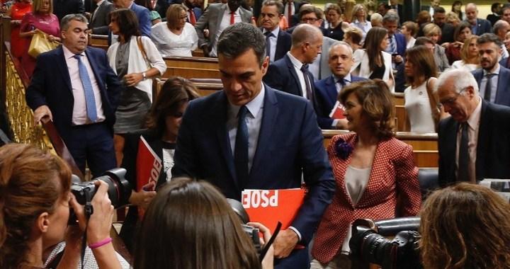 Pedro Sánchez insiste en formar Gobierno tras su investidura fallida