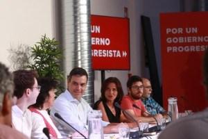 """El PSOE considera """"muy provechosas"""" las reuniones que está manteniendo con organizaciones sociales"""