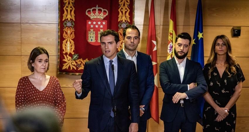 Rivera pedira a Sanchez reunion de Estado para Cataluna