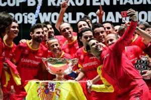 Nadal consigue el sexto título de la Copa Davis para España