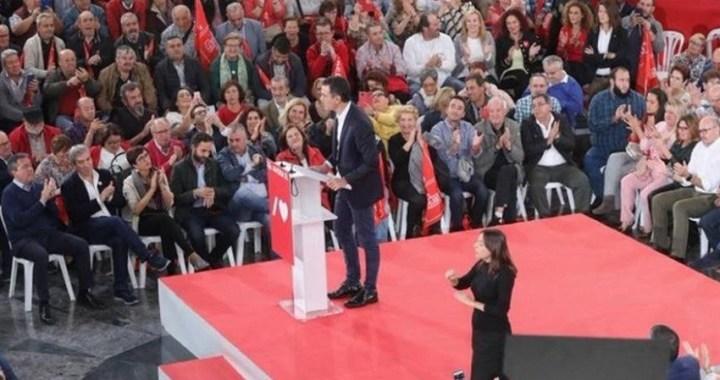 """Sánchez llama a movilizarse el 10N para lograr """"la tercera y definitiva victoria del PSOE"""""""