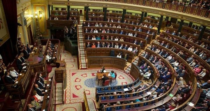 El Congreso de la XIV Legislatura se constituye este martes, 3 de diciembre