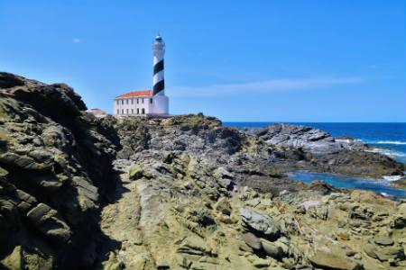 Faro en Menorca