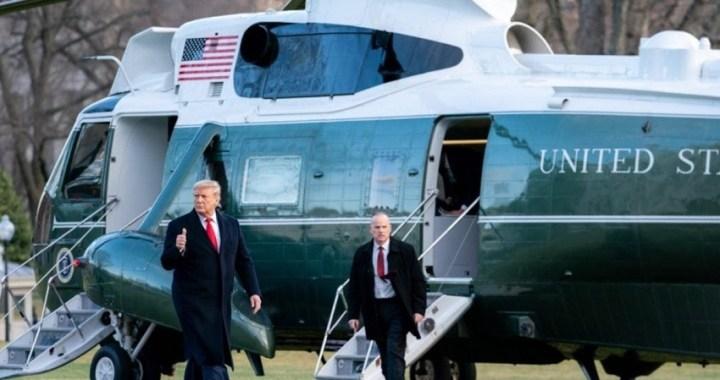"""Trump dice que el riesgo al coronavirus de Estados Unidos es """"muy bajo"""""""