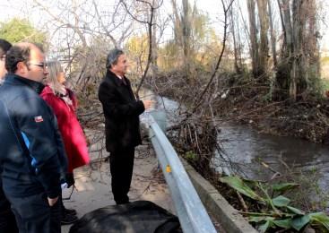 San Javier: Municipio realiza limpieza de canales y cunetas