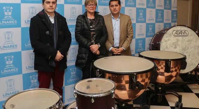 Orquesta Municipal de Linares da paso a Sinfónica gracias a nueva línea de percusión