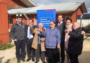 Talca: Entregaron viviendas tuteladas para adultos mayores
