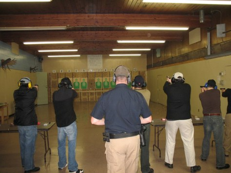 Firearm training level 1