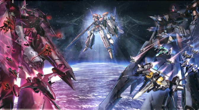 Macross Frontier VF-25 vs VF-27