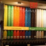 Rainbow of m&m