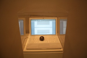 Paper weight on a Mac