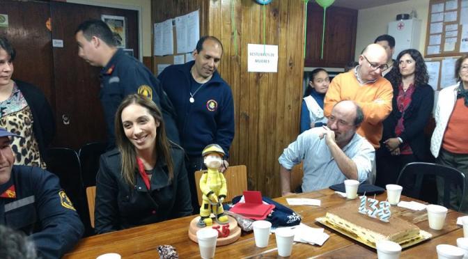 ¿María Eugenia Vidal en Marcos Paz, querés saber dónde estuvo?