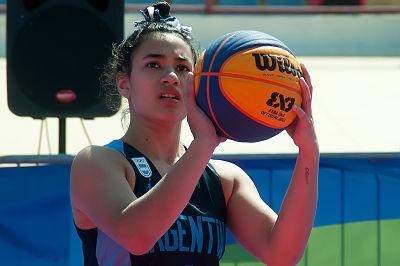 Sofía Acevedo: la chica de Marcos Paz consiguió el oro en basquetbol 3×3, en los Odesur de Chile