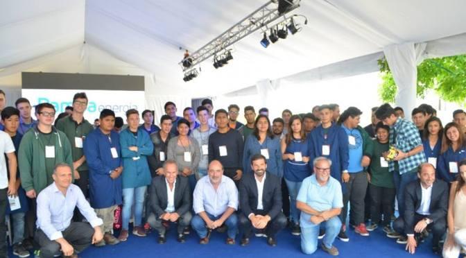 Fin de pasantías en Genelba, empresa que invertirá más en Marcos Paz