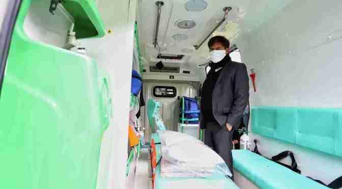 La Región Sanitaria VII cuenta con una nueva ambulancia