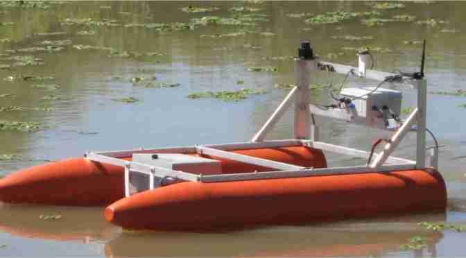 Un equipo de investigación de la UBA desarrolla robots autónomos para el monitoreo ambiental en costas marinas