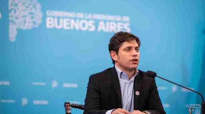 Kicillof anunció el fin del aislamiento en el Área Metropolitana
