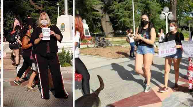 Marcharon por la plaza San Martín, son las víctimas del presunto violador denunciado