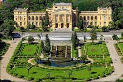 Museu do Ipiranga localizado no Parque da Independência