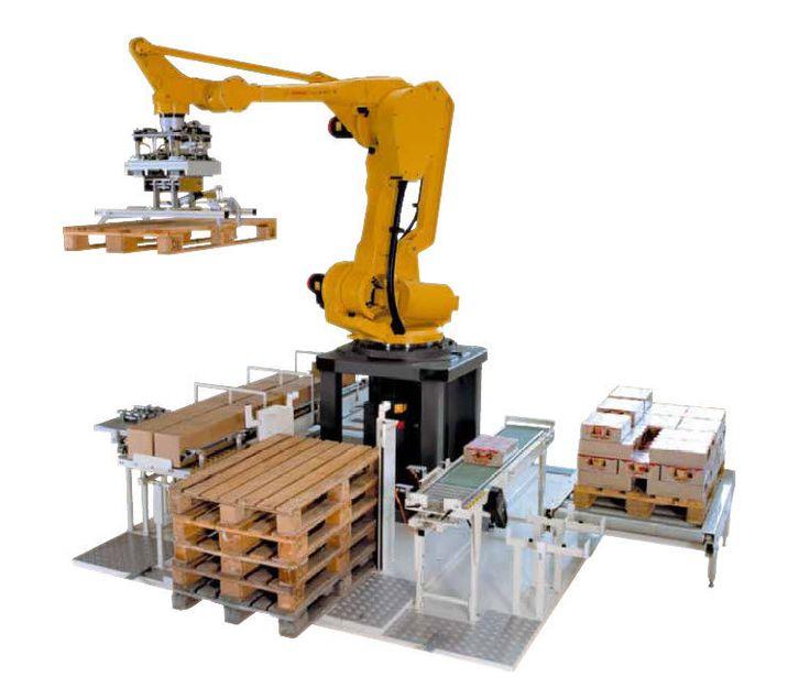 Robotised Palletising Machine