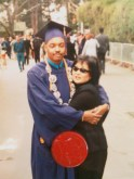 Me and my mom at Graduation