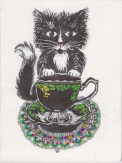 Black Tea Cat