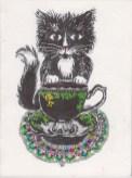 Black Tea Cat