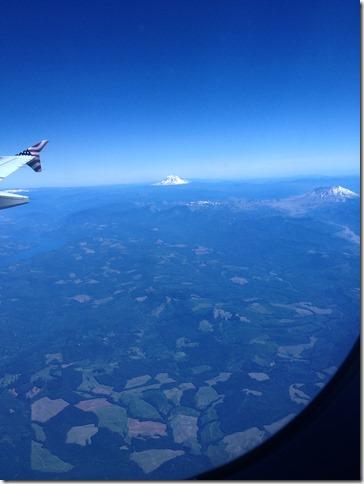 Mt Rainer & Mt St Helens