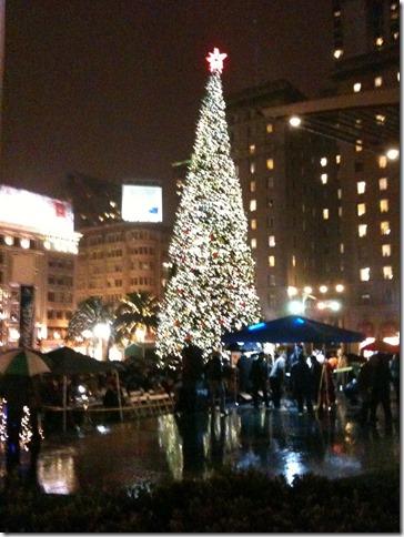 Xmas Tree Union Square