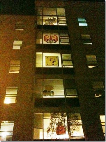 Dorm Post-it Art (2)