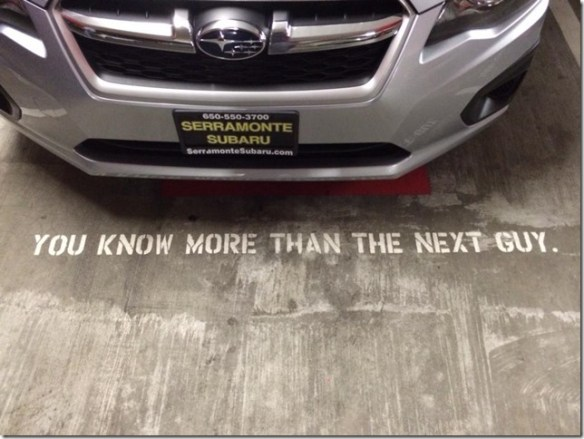Parking Quote