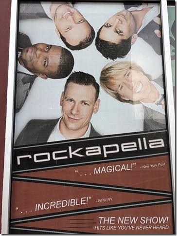 Rockapella Poster
