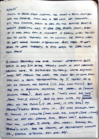 Written Entry (1)