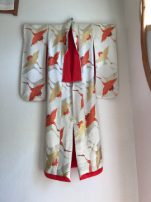 Kimono hanging in spa