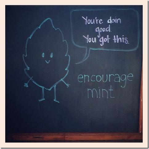 encourage mint