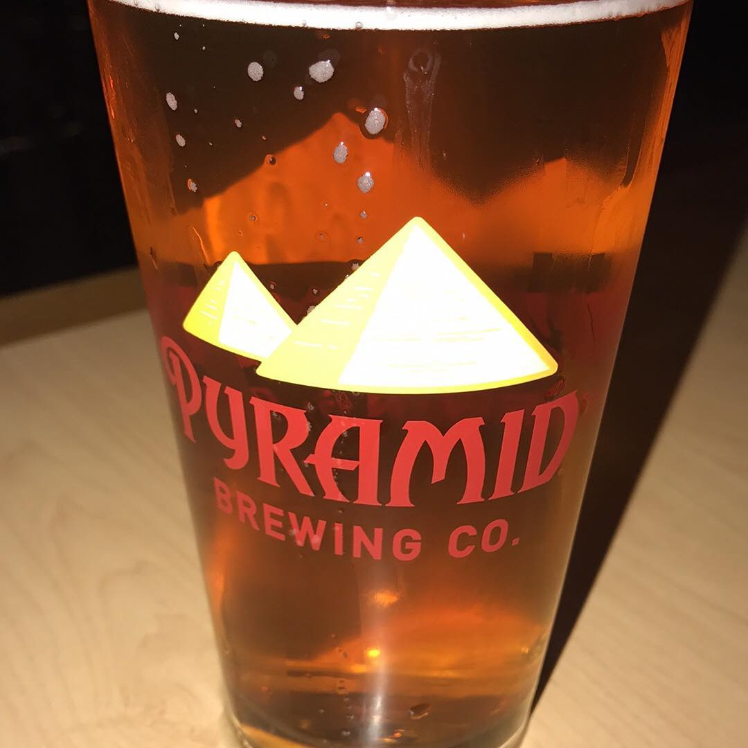 Ferry broke down, decided to catch a Mariners game but they are out of town. At Pyramid Alehouse waiting to watch the Warriors finish off the Cavs.