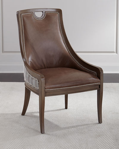 nailhead dining chair horchow com