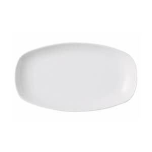 Porland Lebon Beyaz Kayık Tabak 19 Cm Kare Tabaklar