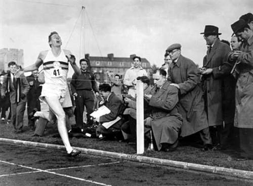 Roger bannister, four minute mile, mindset, leadership