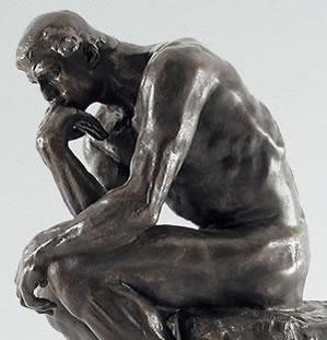 creative, leadership, rodin, the thinker, thinking, ideas